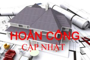 Qui trình hoàn công và Hồ sơ Hoàn công cập nhật vào sổ cũ Quận Tân Bình TpHCM